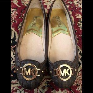 MICHAEL KORS Signature Logo Loafers